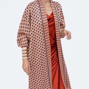 ISO - Zara Special Edition Jacquard Coat